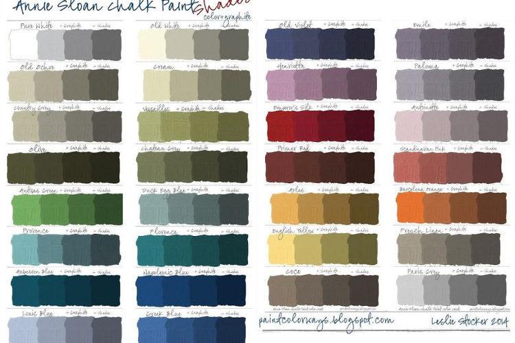Pallete de couleurs
